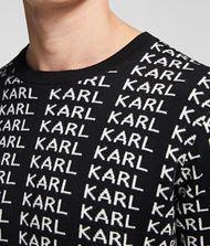 KARL LAGERFELD KARL KARL KARL REVERSIBLE KNIT JUMPER 9_f