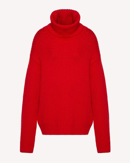 REDValentino Knit Sweater Woman SR0KCC034MU L58 a