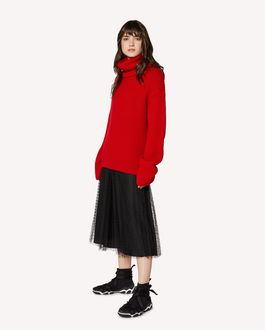"REDValentino ""Red Ladies"" intarsia wool jumper"