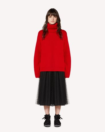 REDValentino SR0KCC034MU L58 Knit Sweater Woman f