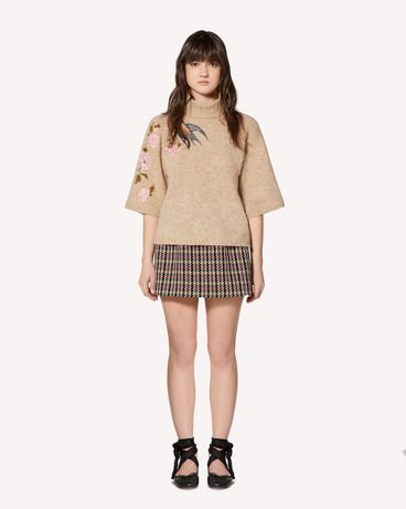 REDValentino SR0KCB854M0 191 Knit Sweater Woman f