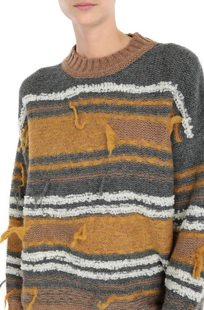 M MISSONI Crew-neck Ochre Woman - Front
