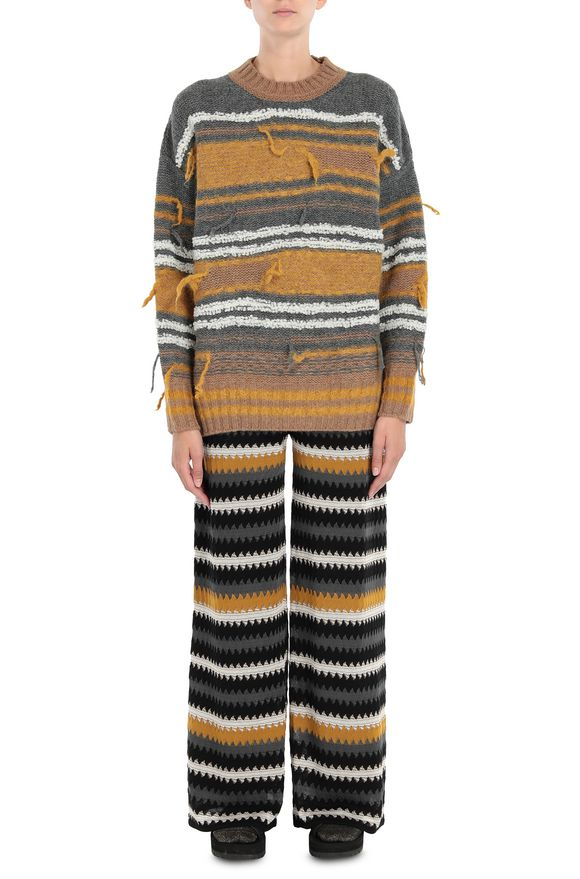 M MISSONI Crew-neck Woman, Frontal view