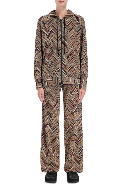 M MISSONI Cardigan Ochre Woman - Back