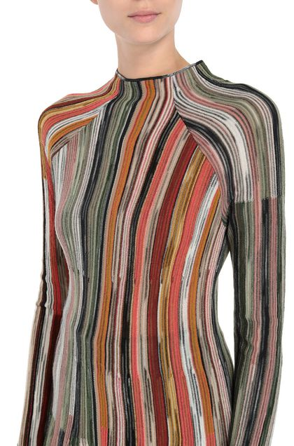 M MISSONI Mock turtleneck Black Woman - Front