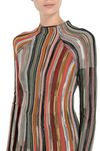 M MISSONI Mock polo neck Woman, Rear view