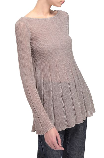 M MISSONI Sweater Light brown Woman - Front