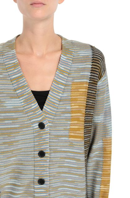 M MISSONI Cardigan Sky blue Woman - Front