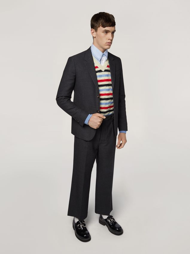 Marni Virgin wool striped knit Man - 5