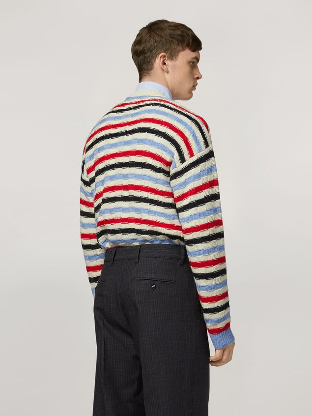 Marni Virgin wool striped knit Man - 3