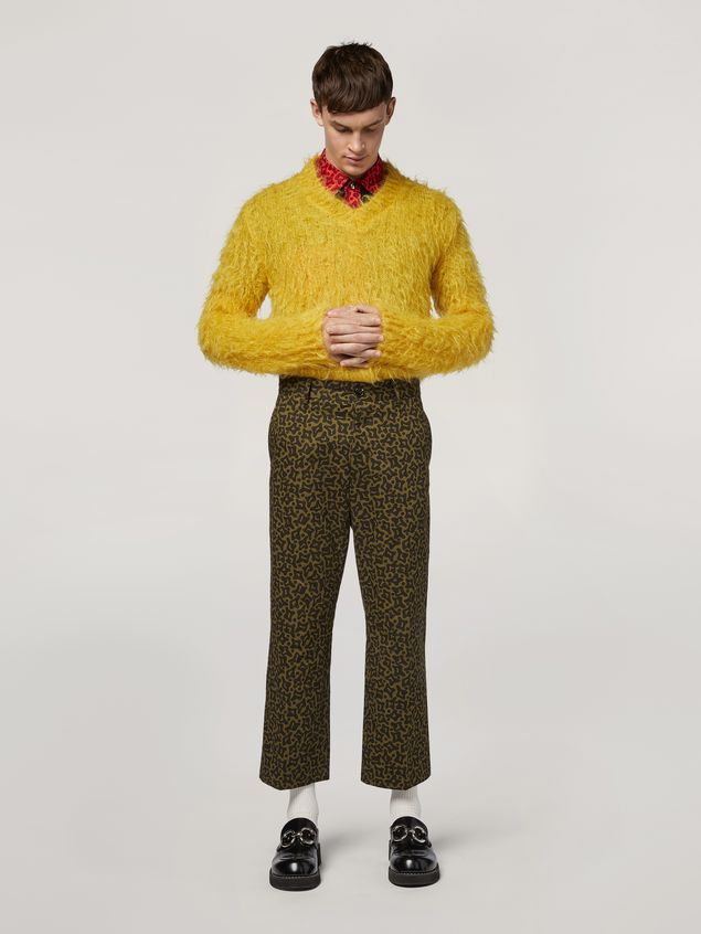 Marni Mohair Knit with brushing finish Man - 5