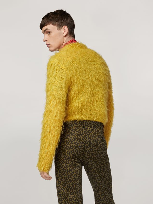 Marni Mohair Knit with brushing finish Man - 3