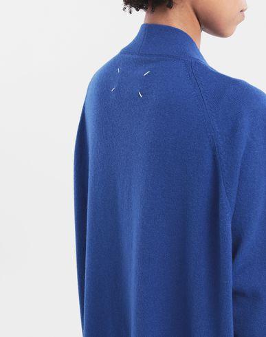 KNITWEAR Décortiqué cashmere cardigan Bright blue