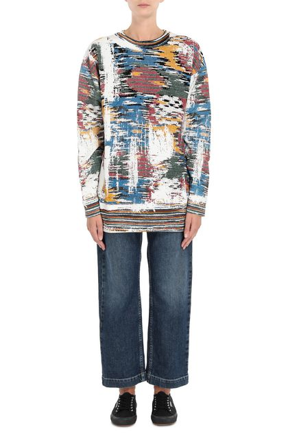 M MISSONI Sweatshirt White Woman - Back