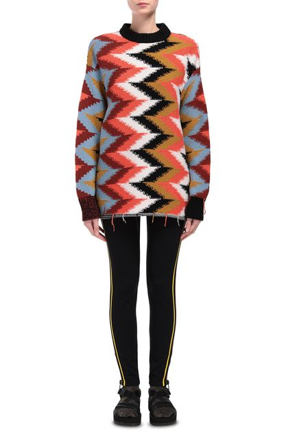 M MISSONI Crew-neck Orange Woman - Back