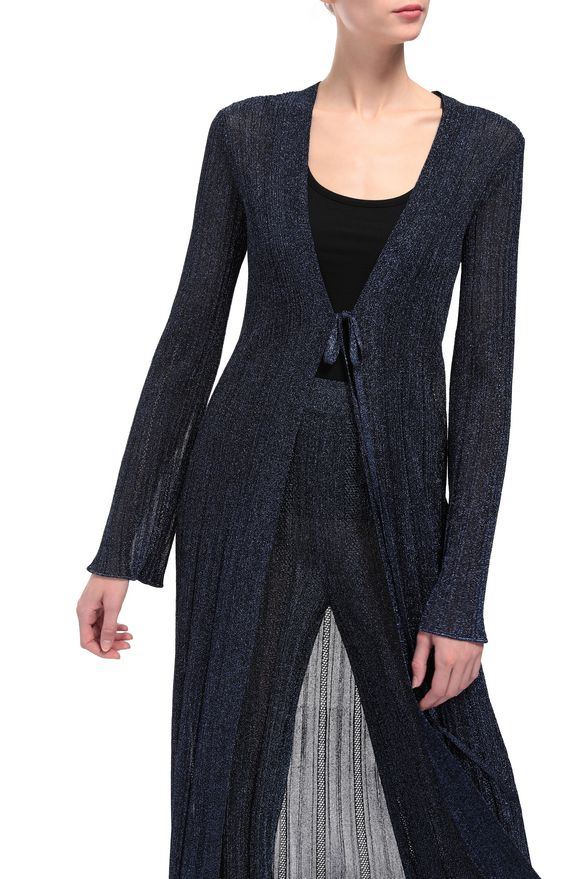 M MISSONI Long cardigan Woman, Rear view