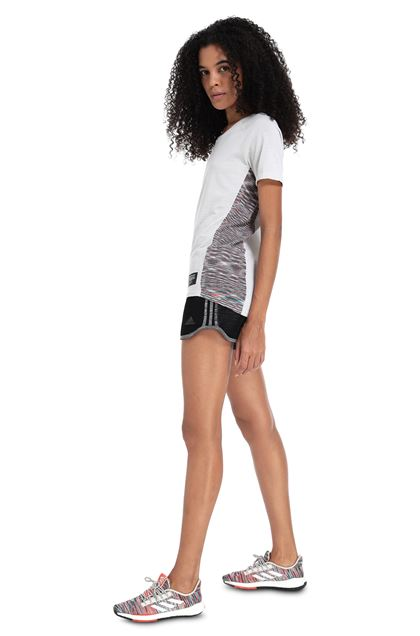 MISSONI ADIDAS X MISSONI T-SHIRT Light grey Woman - Front