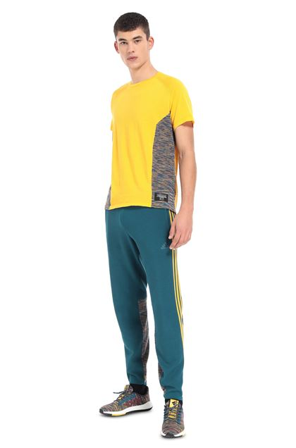MISSONI ADIDAS X MISSONI T-SHIRT Yellow Man - Front
