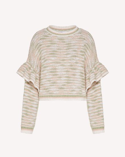 REDValentino Knit Sweater Woman TR3KCC344U7 KS8 a