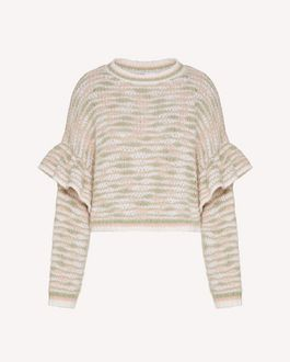 REDValentino Multicolor alpaca sweater