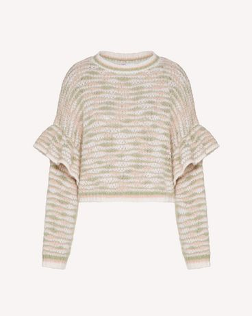 REDValentino TR3KCC344U7 KS8 Knit Sweater Woman a