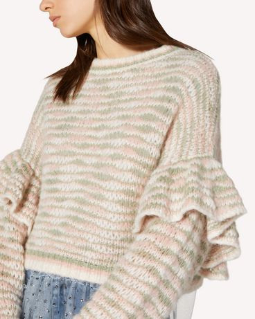 REDValentino TR3KCC344U7 KS8 Knit Sweater Woman e