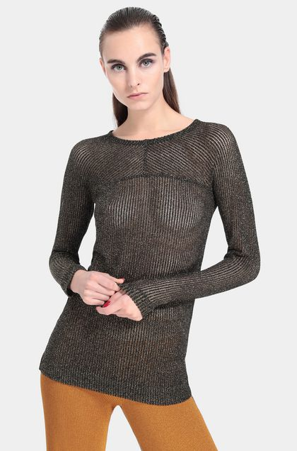 MISSONI Crew-neck Black Woman - Front