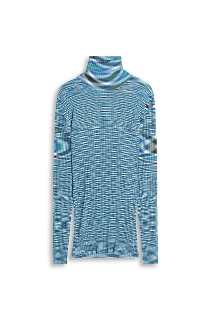 MISSONI Crew-neck Azure Man - Back