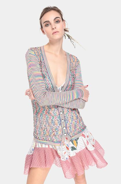 MISSONI Cardigan White Woman - Front