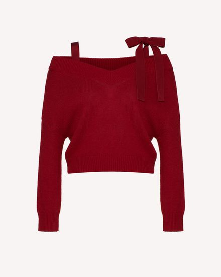 REDValentino Knit Sweater Woman TR3KCC50511 329 a