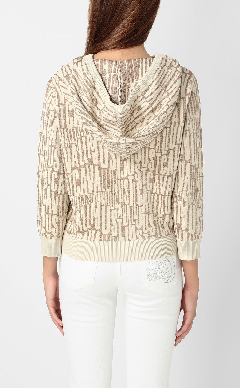 JUST CAVALLI Pullover with logo Sweater Woman a