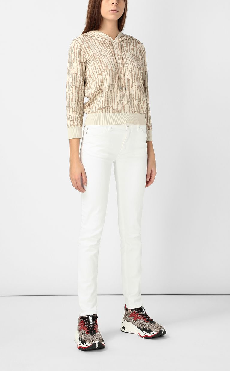 JUST CAVALLI Pullover with logo Sweater Woman d