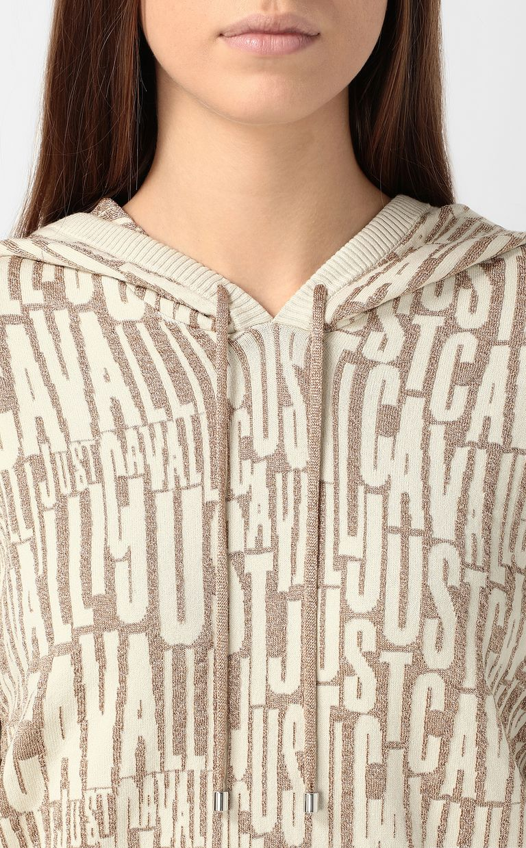 JUST CAVALLI Pullover with logo Sweater Woman e