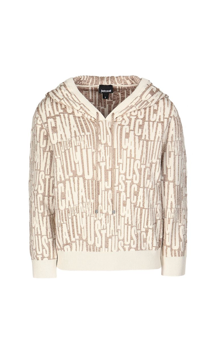 JUST CAVALLI Pullover with logo Sweater Woman f