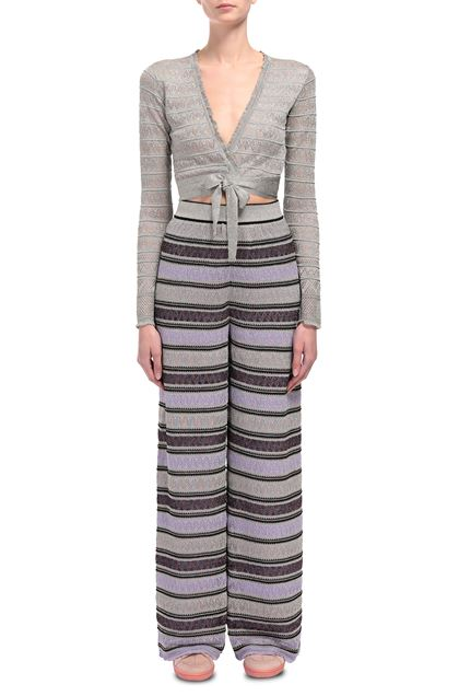 M MISSONI Cardigan Light grey Woman - Back