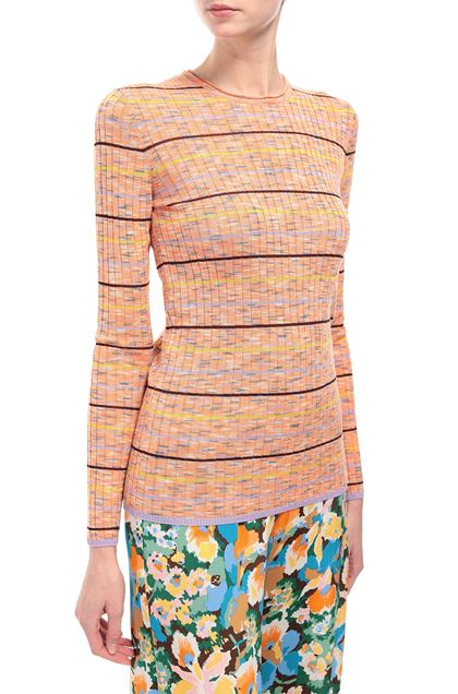 M MISSONI Crew-neck Orange Woman - Front