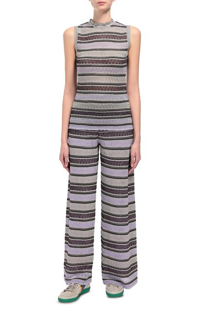 M MISSONI Crew-neck Purple Woman - Back