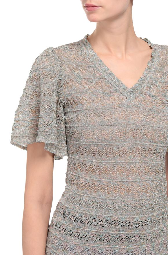 M MISSONI V-Neck Woman, Rear view