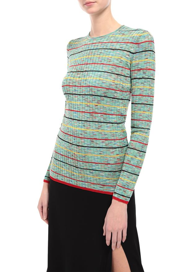 M MISSONI Crew-neck Woman, Rear view