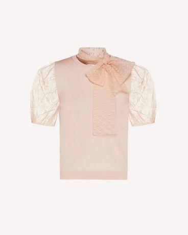REDValentino TR3KCC634WD 377 Knit Sweater Woman a