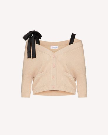 REDValentino TR3KAA564WE D77 Cardigan Woman a