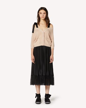 REDValentino TR3KAA564WE D77 Cardigan Woman f