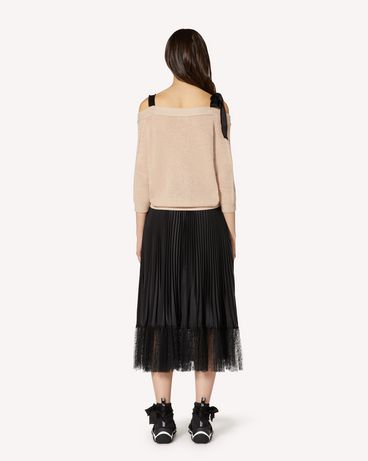 REDValentino TR3KAA564WE D77 Cardigan Woman r