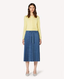 REDValentino Cashmere and silk micro cardigan