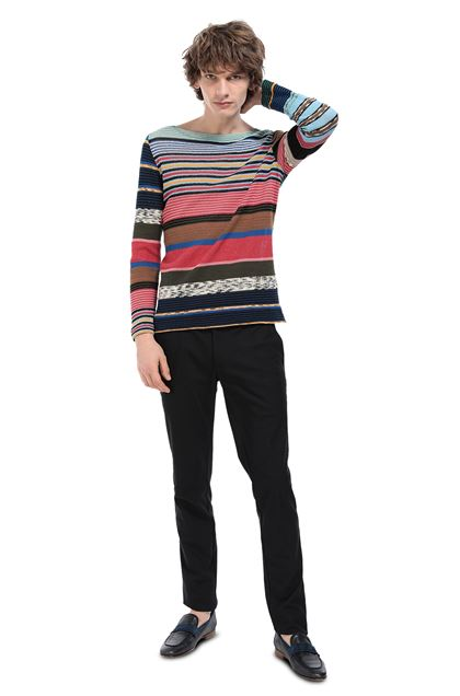 MISSONI Crew-neck Sky blue Man - Front