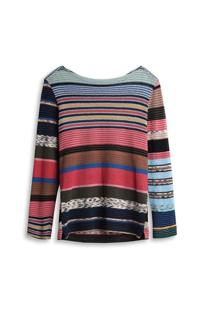 MISSONI Crew-neck Sky blue Man - Back