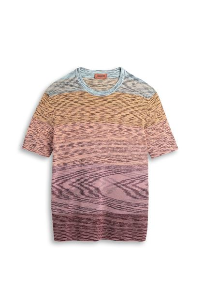 MISSONI Wallace shirt Mauve Man - Back