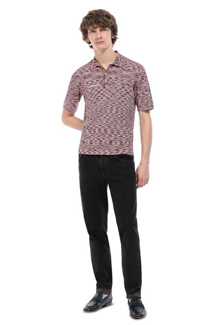 MISSONI Wallace shirt Maroon Man - Front