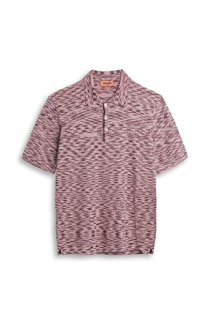 MISSONI Wallace shirt Maroon Man - Back