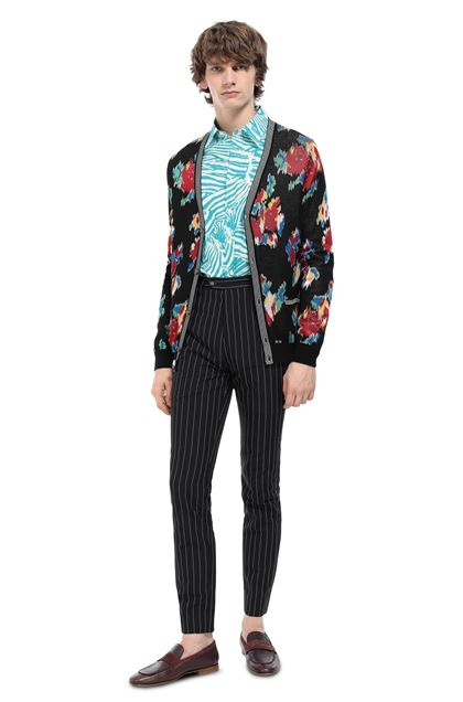MISSONI Cardigan Black Man - Front